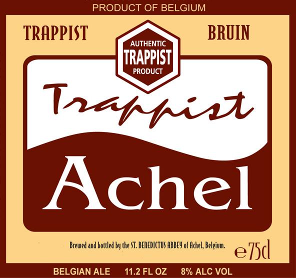 Achel bryggeri logga