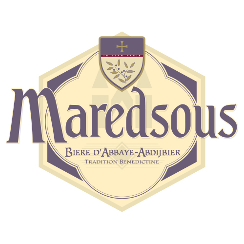 Maredsous bryggeri logotyp